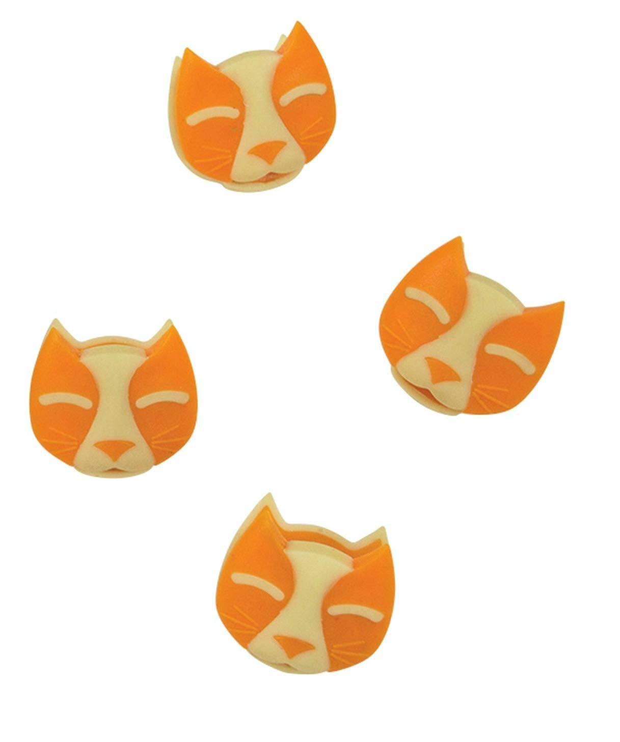 Boston Warehouse Cat - Magnetic Clip Set of 4