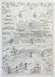 Amazon Creative Haven Winter Wonderland Coloring Book Adult 9780486805016