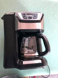 Black Decker Coffee Maker Parts Dual Reviews And