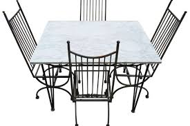 Samsonite Patio Furniture Dealers by Mid Century Modern Salterini Dining Patio Set At 1stdibs Mid