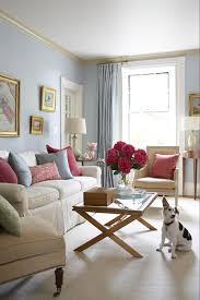 light blue walls inspiration from bhg living rooms