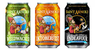 Saint Arnold Pumpkinator 2015 by Saint Arnold Brewing Expands Cans To Include Weedwacker And