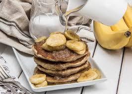 Vegan Bisquick Pumpkin Pancakes by Coconut Vegan Pancakes With Maple Bananas The Scrumptious Pumpkin