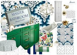 one room challenge master bathroom design plan week 2