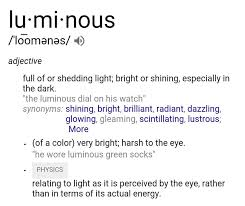 Shed Any Light Synonym by 105 3 Afro Fm Monday U0027s Word Of The Day Is Lominous Facebook