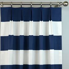 108 Inch Navy Blackout Curtains by Navy Blue White Cabana Modern Wide Horizontal Stripe Curtains