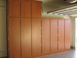 Free Standing Storage Cabinets For Garage by Natural Wood Freestanding Storage Cabinet With Metal Door Hardware