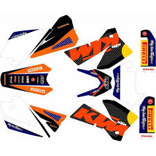 kit deco 125 sx 2004 rd2shop ktm sx sxf exc 01 à 07
