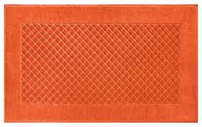 Spelndid Orange Bath Rugs Rugs Design 2018