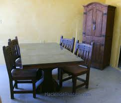 Mexican Carved Chairs Table Doors