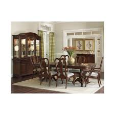 EVOLUTION PEDESTAL DINING ROOM QUEEN ANNE CHAIRS