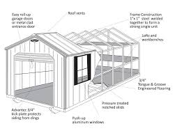 12x24 Portable Shed Plans by Steel Frame Metal Utility Buildings Leonard Buildings U0026 Truck