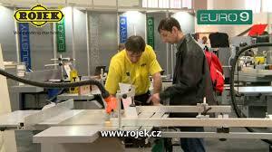 rojek woodworking machinery u2013 euro 9 youtube