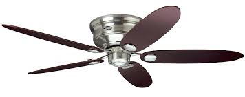 ceiling fan image of low profile ceiling fans with light hunter