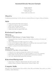 Resume Computer Skills Example For Examples Of Hard