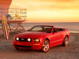 Ford Mustang GT Convertible 2005 pictures information & specs