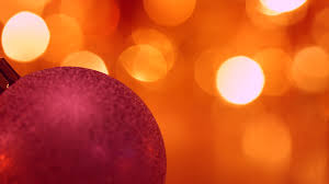 Blinking Christmas Tree Lights by Christmas And New Year Decoration Abstract Blurred Bokeh Holiday