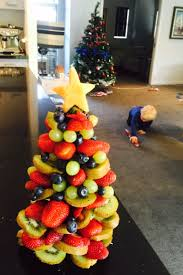 Christmas Tree Made Of Fruit O Doms Kitchen