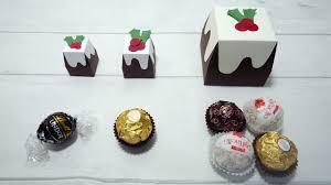 Ferrero Rocher Christmas Tree Box by Ferrero Rocher Small U0026 Big Christmas Pudding Chocolate Box Holder