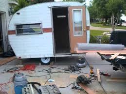 Vintage Camper Restorationwmv
