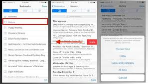 How to delete some or all of your Safari browsing history on iOS