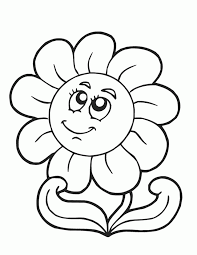 High Resolution Coloring Flower Pages Printable Free In 1000 Images About