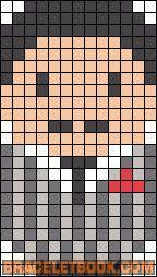 Halloween Perler Bead Templates by 40 Best Hama Halloween Images On Pinterest Hama Beads Beads And