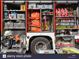 Firefighter Truck Tools Stock Photos & Firefighter Truck Tools Stock ...