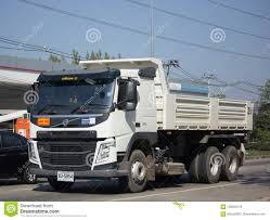 Private Volvo Dump Truck Editorial Image. Image Of Delivery - 108099170