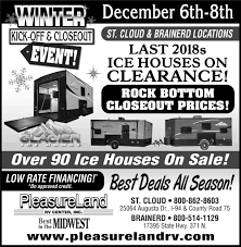 Winter Kick-Off & Closeout Event!, Pleasure Land Rv Center, Brainerd, MN 2019 Glacier Sportsmans Den 24 St Cloud Mn Rvtradercom Winnebago Adventurer 30t Brainerd 2018 Palomino Bpack Edition Hs 2901 Max 6601 Cssroads Rv Hampton Hp372fdb Mn Car Dealerships Best 2017 Keystone Avalanche 330gr Grand Design Reflection 367bhs 2015 Trend 23b Forza 38f Dodge Ram 2500 Truck For Sale In Minneapolis 55433 Autotrader Raptor 425ts