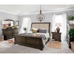 Value City Furniture Leather Headboard by The Collinwood Bedroom Collection American Signature Furniture