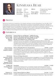 Resume Examples By Real People: Human Resources Officer, Consultant ...