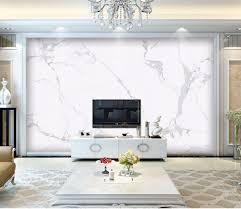 100 Marble Walls US 385 Bacaz Custom Photo Mural Wallpaper White TV Backdrop Papel De Parede 3D Wallpaper For Modern Wall Papers Home Decorin