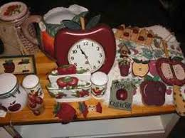 Apple Decor for the Kitchen with Red Color