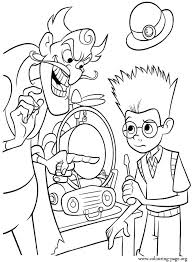 Memory Scanner Is Sabotaged By Bowler Hat Guy Coloring Page
