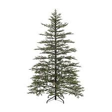 Artificial Christmas Trees Unlit Canada by Shop Christmas Central 7 5 Ft Pre Lit Norfolk Pine Artificial