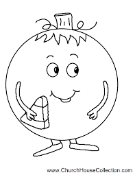 Black And White Pumpkin Coloring Page 85x11 PNG