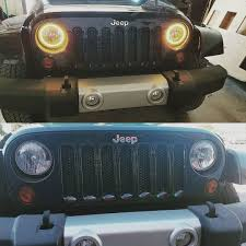 Stock #jeep #wrangler Headlights Out, New #halo Lights In ... Oracle 0608 Ford F150 Led Halo Rings Head Fog Lights Bulbs Lighting 1314332 Smd Dynamic Colorshift Kit For 0814 Dodge Challenger Wpro Ccfl Headlights Installing On A 2004 Ram Pickup 8 Steps With Lumen Sb7250xxblk 7 Round Black Projector 0610 Charger Triple Color Bmw Upcoming Cars 20 2641052 Plasma Blue Lights Gone Crazy Headlights Wikipedia Jeep Wrangler Waterproof Headlight Cversion