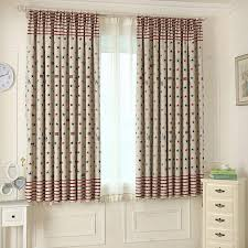 Nursery blackout curtains have practical and decorative effects