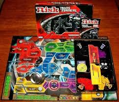 Risk Transformers Cybertron Battle Board Game