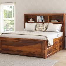 Marvelous Upholstered Wooden Bed Frames Frame Queen Wood Bedrooms