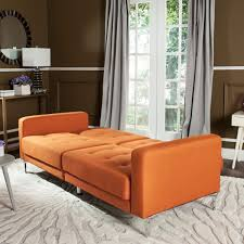 Upholstered Sofa Bed Futon Safaviehcom
