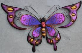 Outdoor Wall Decor Butterflies
