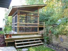 Backyard Patio Decorating Ideas by Tips U0026 Ideas Screen Porch Ideas With Sloping Roof And Front Steps