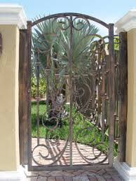 Decorative Metal Garden Gates Image Intended For Idea 6 Mprnac
