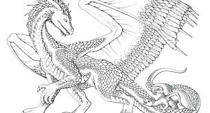 Dragon Coloring Page Pages For Adults Difficult Dragons Or