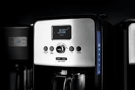 KRUPS EC314050 12 Cup Savoy Programmable Digital Stainless Steel Coffee Maker