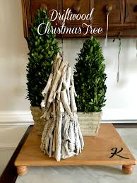 Driftwood Christmas Trees by Christmas Decor Archives Stylish Revamp