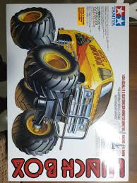 100 Monster Truck Lunch Box 112 Tamiya RC 58347 Toys Games