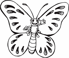 Print Coloring Page And Book Cartoon Butterfly For Kids Of All Ages Updated On Saturday April